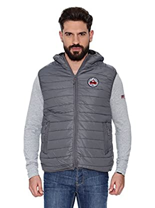 Geographical Norway Chaleco Vanagrame Men Assor A 201 (Gris / Negro)