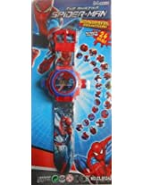 24 images Spiderman Projector Watch for kids,Diwali Gift, Birthday Return Gift
