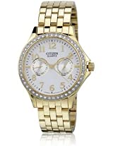 Citizen Analog White Dial Women's Watch - ED8112-52A