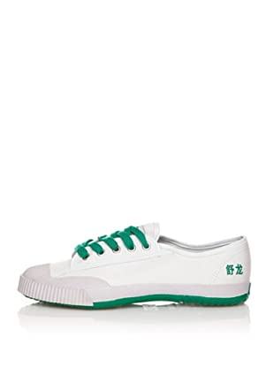 Shulong Zapatillas Shustreet Low (Blanco / Verde Claro)