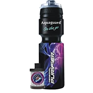 Eureka Forbes Aquaguard Personal Purifier Bottle (Black)
