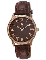 Aspen Analog Brown Dial Men's Watch - AM0073