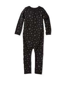 New Generals Baby Butterly Flutter Bodysuit (Black)