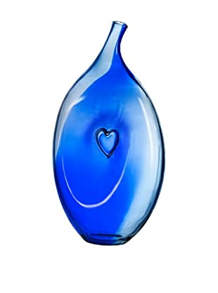 Kosta Boda Bali Vase (Blue)