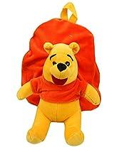 Winnie The Pooh Soft Toy School Bag