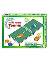 Mini TT Table Tennis Toy for Kids - Real Table Tennis and Racket set with Net and ball