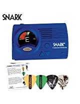 Snark SN-3 & Guitar Bass Tuner with SN3 Tap Tempo Metronome and Full Color Display - Includes: Guitar Pick Sampler