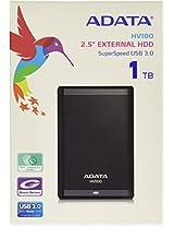 ADATA HV100 1TB HARDDISK (BLACK)