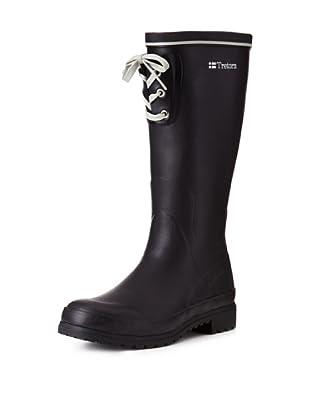 Tretorn Women's Sofiero Rubber Boot (Black)