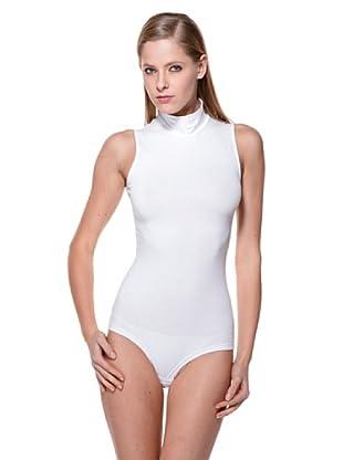 Cotonella Body SM Cuello Alto (blanco)