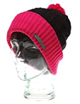 SkullcandyOrbit Speaker Audio Beanie Black and Raspberry S8N11BA-LZ