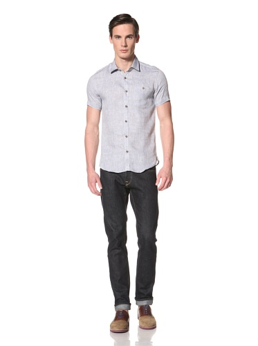 Ted Baker Men's Ponda Button-Up Shirt (Grey)