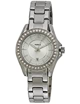 Fossil Riley ES2879 Silver Dial Women's Watch
