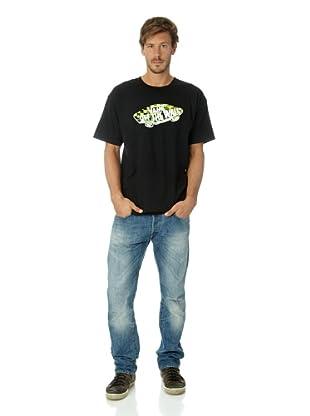 Vans Camiseta logo cuadros OTW (Negro)