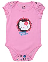 Hello Kitty - Short Sleeves Cat Printed Onsies