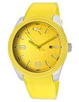 Puma Analog Yellow Dial Men's Watch - PU102701004
