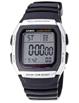 Casio Youth Grey Dial Men's Watch - W-96H-1AVDF (D031)