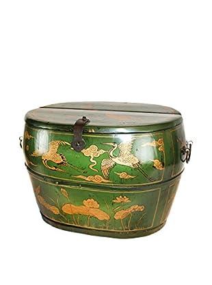 Asian Loft Antique Chinese Shoe Box