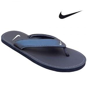 Nike Men's Slippers 518226-201 Drk Cinder Mtllc Gold