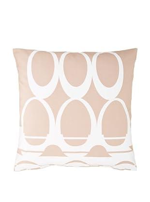 Twinkle Living Moondance Pillow Cover (Mocha/White)