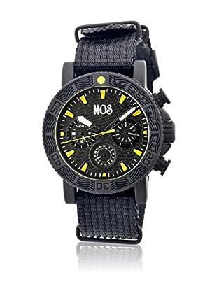 Mos Reloj con movimiento cuarzo japonés Mossp107 Negro 45  mm
