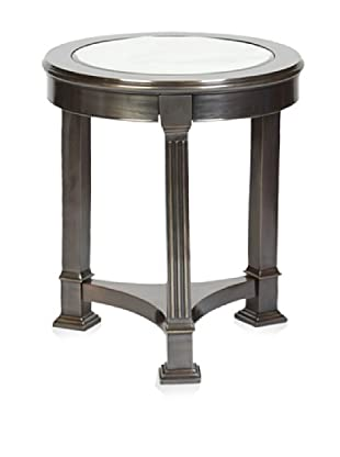 Prima Design Source 3 Legged Accent Table, Brass