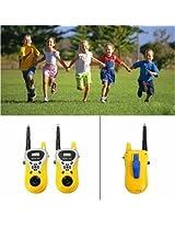 2Pcs Mini Walkie Talkie Outdoor Communication Electronic Phone Kids Toys Portable Two Way Radio Set