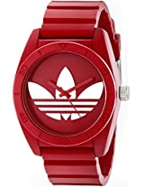 Adidas Analog Red Dial Unisex Watch - ADH6168