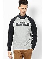 Aw77 Lbj Round Neck Sweatshirt