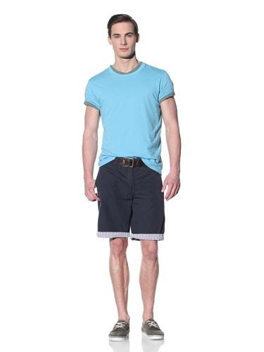 Tailor Vintage Men's Reversible Short (Navy/Gingham)