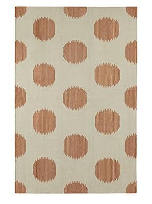 Genevieve Gorder Spots Rectangle Flat Woven Rug