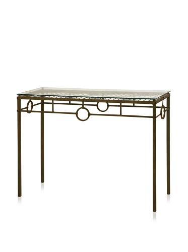Carolyn Kinder Tabora Glass Top Console Table