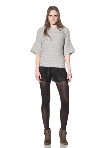 Rogan Women's Kobori Chunky Knit Sweater (Grey)