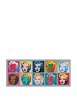 Artopweb Panel Decorativo Warhol Ten Marilyns, 1967 - 56x134 cm Multicolor