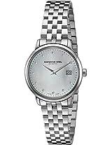 Raymond Weil Analogue Mop Dial Women's Watch - 5988-ST-97081