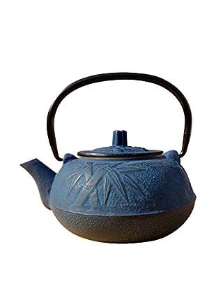 Old Dutch International Cast Iron 20-Oz. Osaka Teapot, Blue