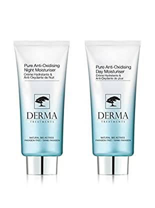 DERMA TREATMENTS Kit Facial 2 Piezas Pure Anti Oxidising
