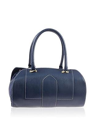 Valentina Italy Henkeltasche Fashion blau one size