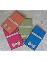 Cute Jute Embroidered Handmade Paper Diary