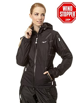H2O Insulated Windstopper Gore Jacke (Schwarz)