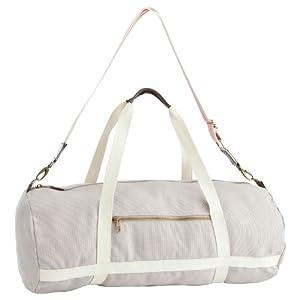 Domyos 30L Cotton Beige Duffel Bag