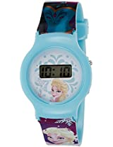 Disney Digital Blue Dial Girl's Watch - DW100472