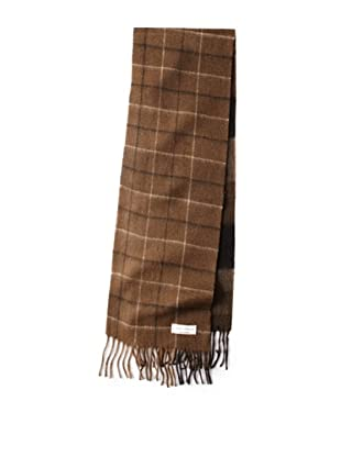 Joseph Abboud Men's Blocked Scarf (Brown)