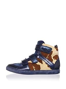 Vivienne Westwood Men's Mid-Height Urban Sneaker (Blue)