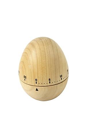 Faveco Minutero De Cocina En Madera-Huevo