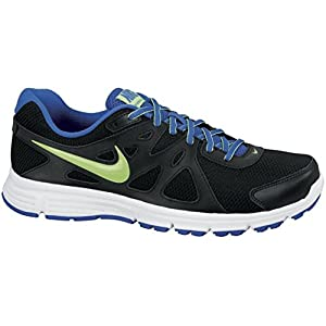 Nike Revolution 2 Msl Running Shoes - Black, Blue and Green