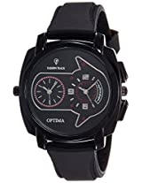 Optima Analog Black Dial Men's Watch - FT-ANL-2533
