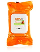 Yes To Baby Carrots Face and Nose Wipes, 30 Count (Pack of 2)