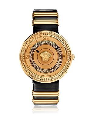 Versace Uhr mit schweizer Quarzuhrwerk V-Metal Icon VLC030014 schwarz 40.00 mm