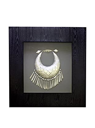 Asian Loft Framed Silver Necklace